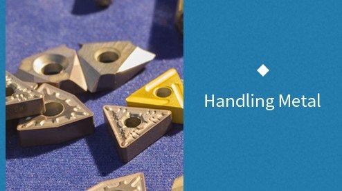 handling metal